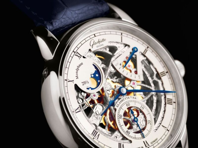 Senator Moonphase Skeletonized Edition