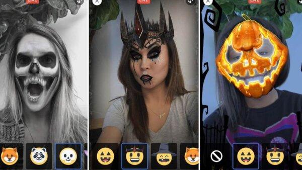 Facebook Halloween