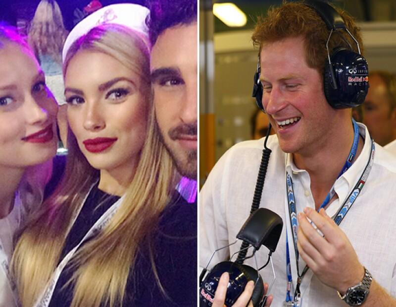 El periódico `The Sun&#39 especula que el soltero más codiciado de Inglaterra encantó a la modelo alemana Anastasia Guseva en una fiesta en Abu Dabi.