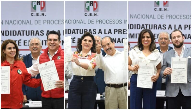 Candidatos PRI