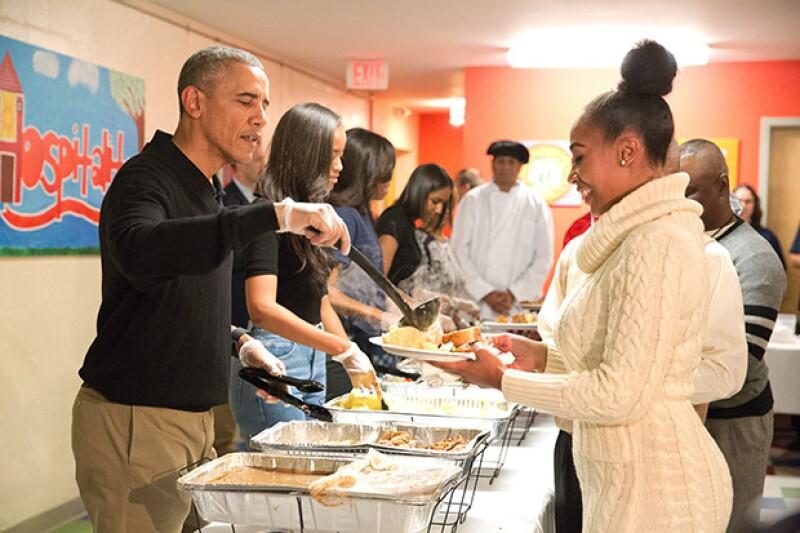 Obama instó a la nación a aceptar a los inmigrantes y refugiados.