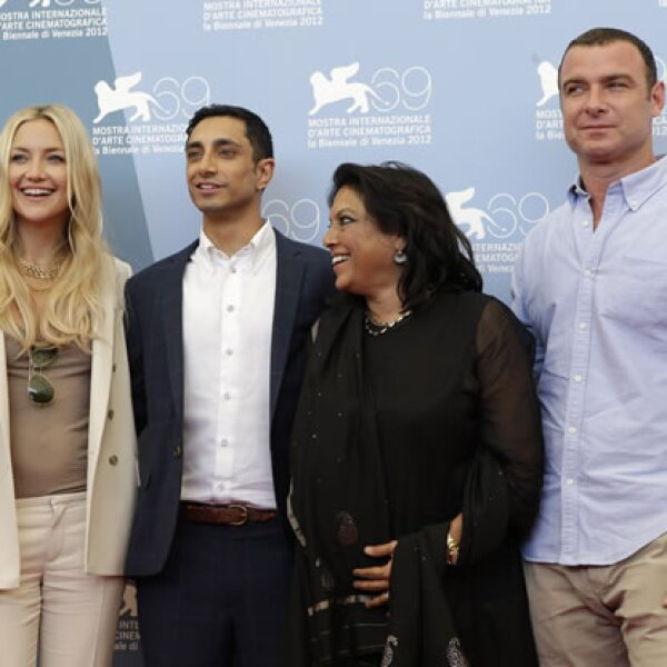 Los actores de `The Reluctant Fundamentalist´.