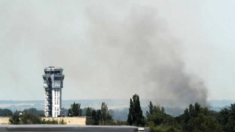 Aeropuerto de Donetsk.