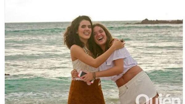 Así o más guapas las hijas de Alejandro Fernández, Camila y América.