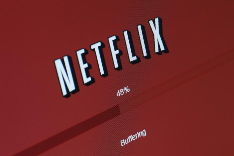 Netflix - Buffering Screen