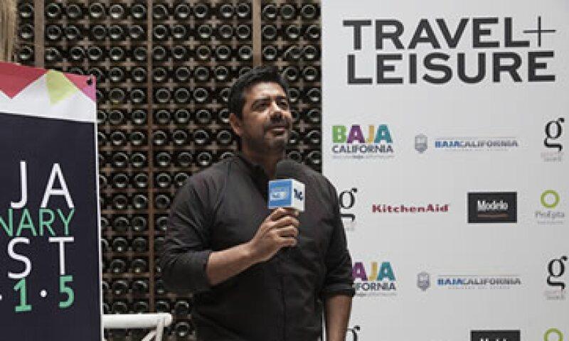 El chef Javier Plascencia estuvo presente en los Gourmet Awards  (Foto: Ling Sepúlveda )