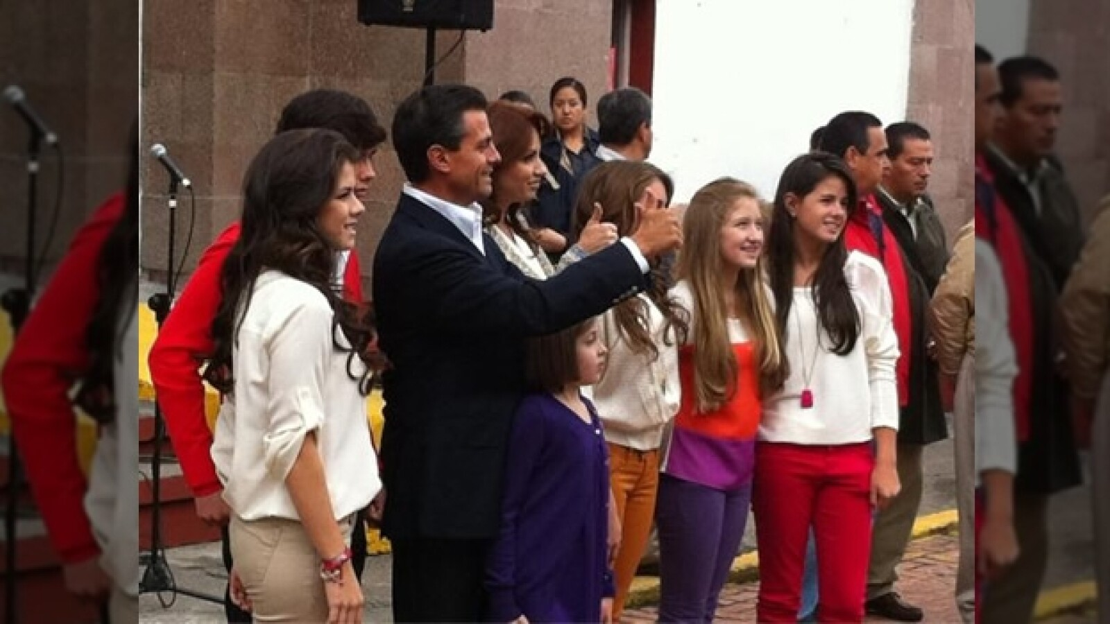 Enrique Pena Nieto familia voto