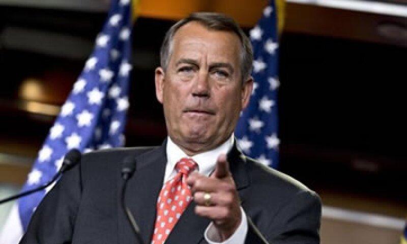 El presidente de la Cámara de Representantes, John Boehner, hizo la oferta en una carta al presidente Barack Obama.  (Foto: AP)