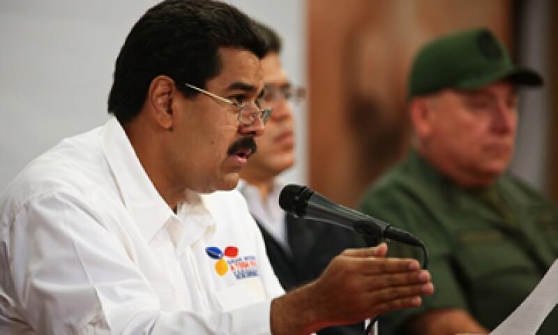 El único beneficio que ellos pudieran buscar es crear las condiciones para una intervención militar extranjera en Venezuela, acusó Maduro. (Foto: AP)