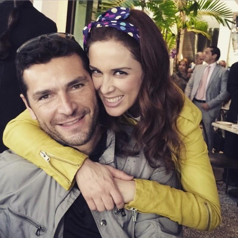 Jacky es muy romántica con Martín Fuentes desde siempre.
