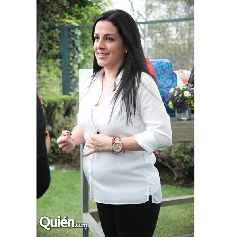 Lidia Ávila está a pocas semanas de recibir a su hijo.
