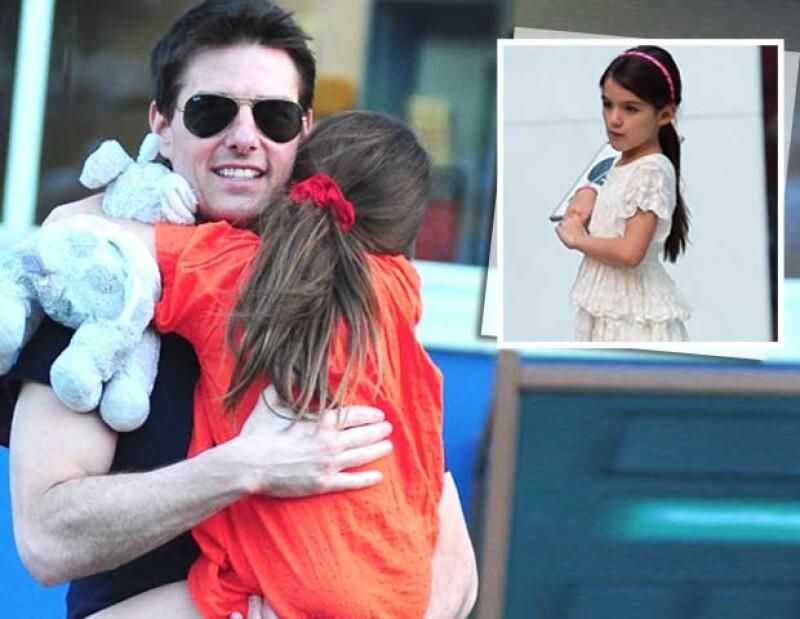 Un grupo de agentes ha sido contratado por el actor para cuidar a su hija, fruto de su matrimonio con Katie Holmes, las 24 horas del día.