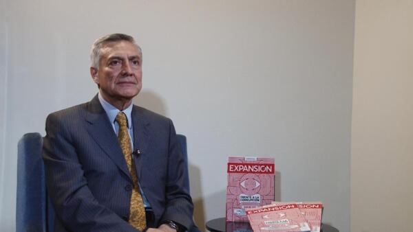 """""""Aspiramos a un auténtico equilibrio de poderes"""": Cristóbal Arias"""