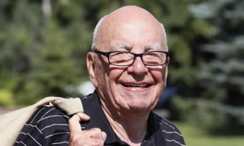 Hace unos días se divulgó que Murdoch hizo una oferta de 80,000 millones de dólares por Time Warner. (Foto: Reuters)