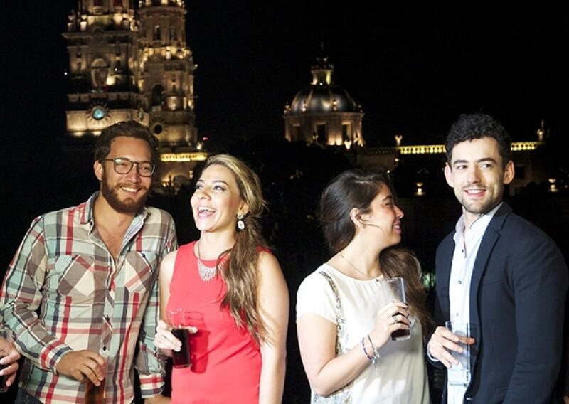 El actor disfrutó haciendo promoción para el estado de Michoacán.