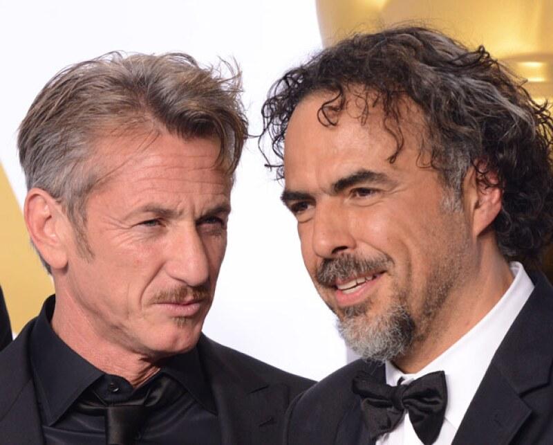 El actor causó polémica por su broma en los Oscar 2015, sin embargo tanto él como Alejandro no mostraron molestia alguna.