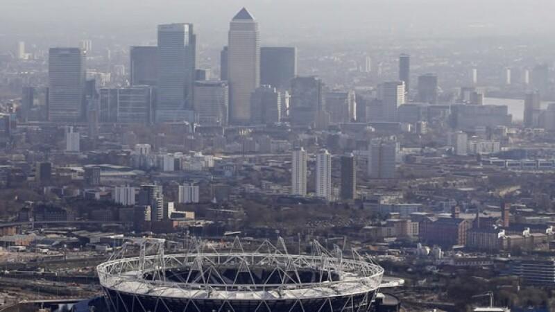 Vista panoramica de Londres
