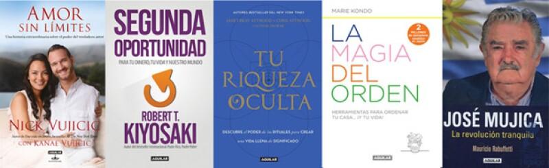De Nick Vujicic a Marie Kondo, autores que han ganado reconocimiento mundial.