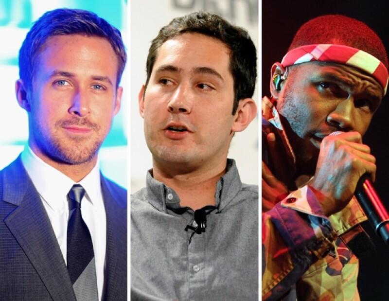 Ryan Gosling, Kevin Systrom y Frank Ocean
