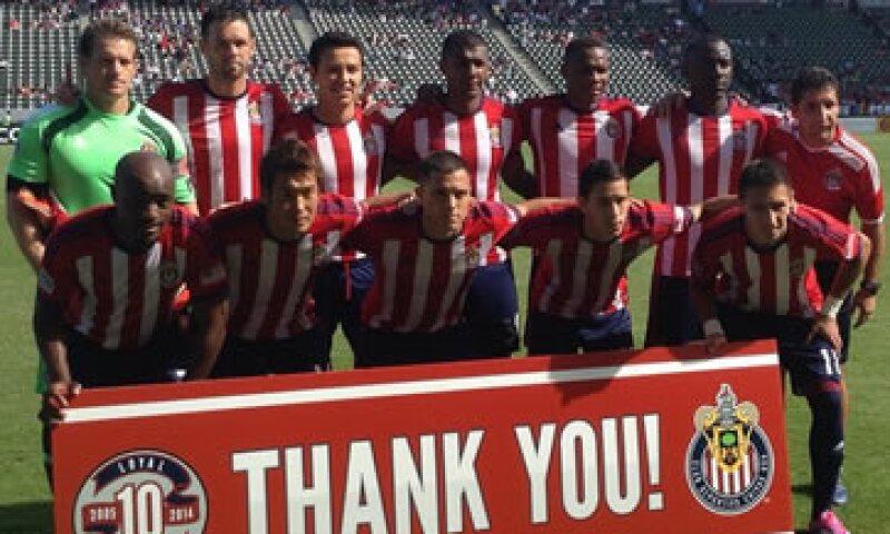 El equipo finalizo en el séptimo lugar de nueve en la Conferencia del Oeste. (Foto: Tomada de http://instagram.com/chivasusa )