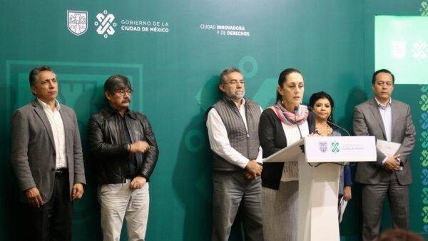 Anuncio. La jefa de gobierno de la CDMX dio detalles de las obras que generarán afectaciones en el suministro de agua.
