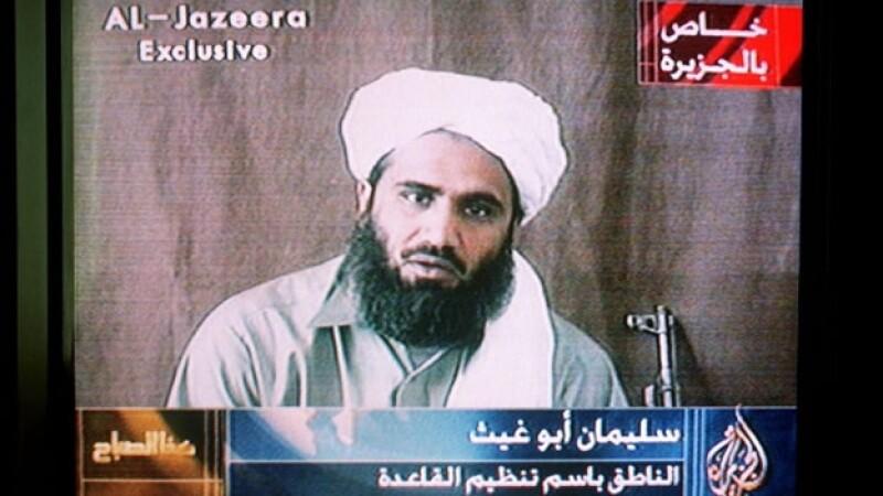 El yerno de Osama bin Laden mensaje televisión octubre 2001