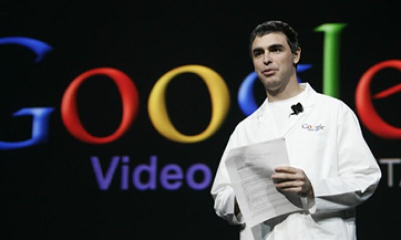 Larry Page, CEO de Google, admite que la empresa es más amable en la tolerancia del bajo rendimiento de sus trabajadores.  (Foto: AP)