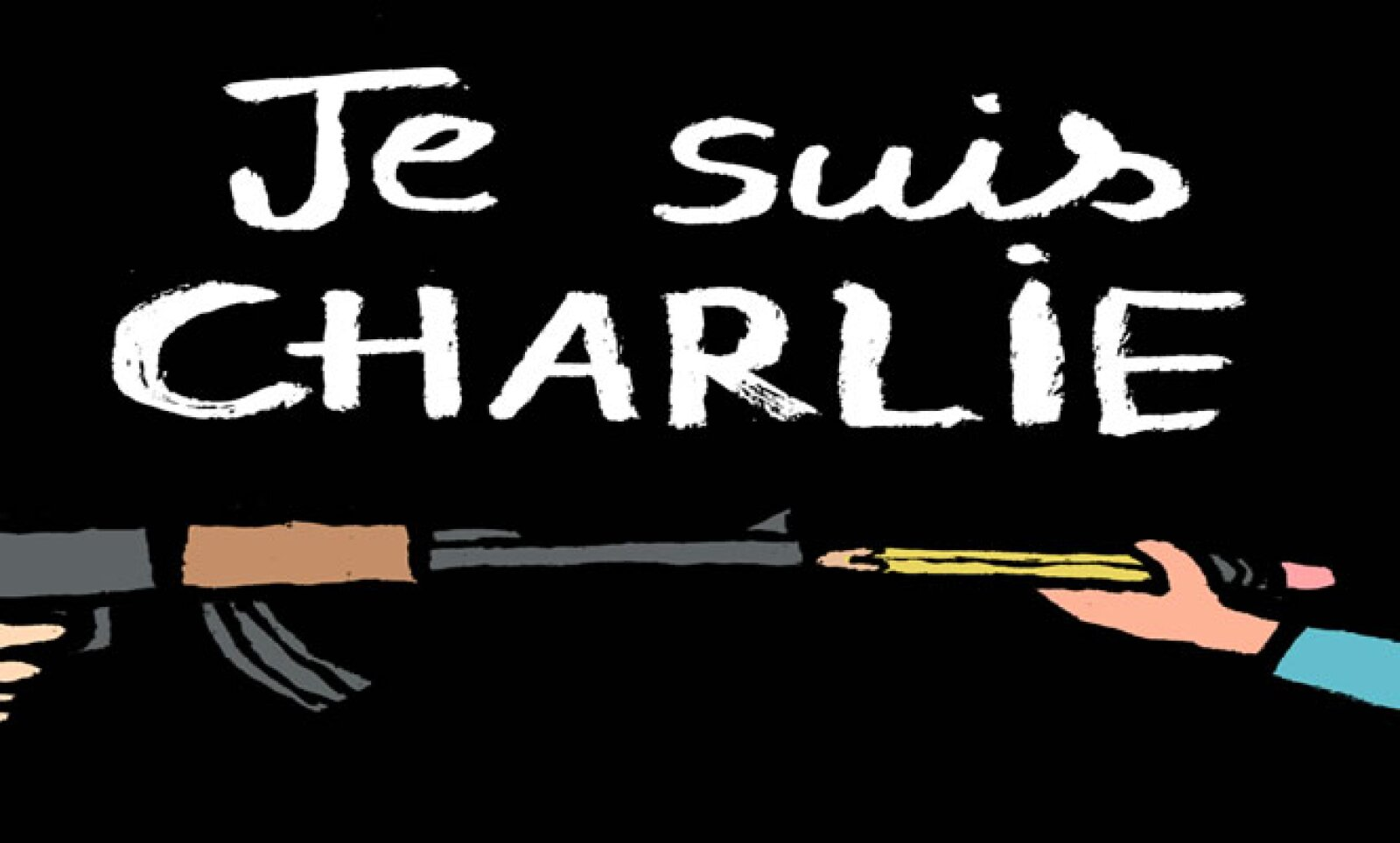 La frase Je suis Charlie (Yo soy Charlie) se convirtióen trending topic en Twitter tras el atentando.