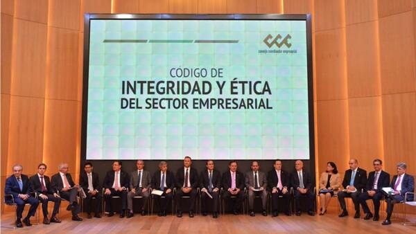 El sector privado presenta su Código de Integridad y Ética Empresarial