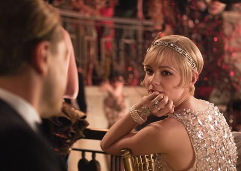 Carye Mulligan es Daisy Buchanan en la adaptación de Baz Luhrmann de `El gran Gatsby´ de F. Scott Fitzgerald.