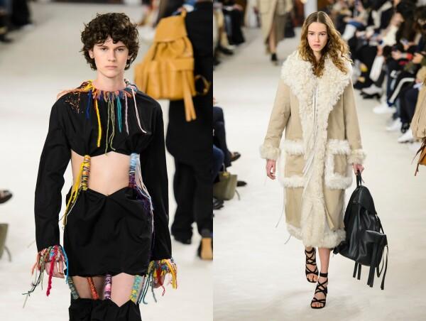 Loewe show, Runway, Fall Winter 2018, Paris Fashion Week, France - 02 Mar 2018