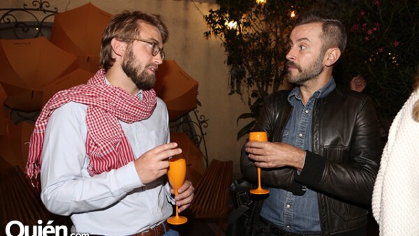 Jean Bastille y Patrick Stephan