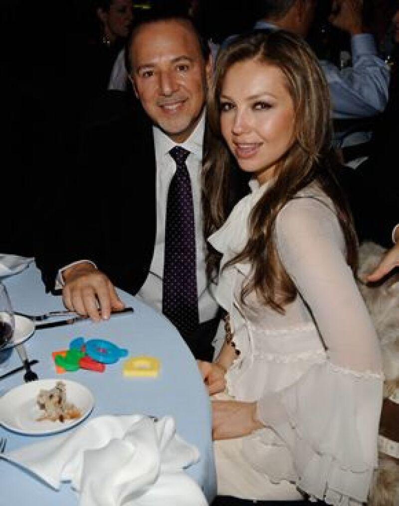 La cantante y su esposo asistieron a un evento a favor de la fundación de Michael J. Fox.