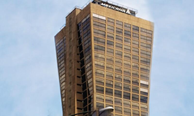 La torre AXA, antes torre Mexicana, en la colonia Del Valle, fue representativa de la arquitectura de los años 80. (Foto: Guadalupe Szymanski)