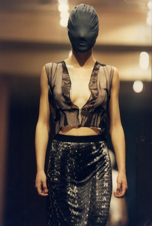 Martin Margiela Fashion Show In Paris.