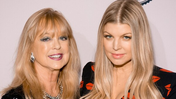 Fergie y su mamá