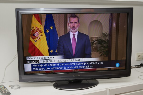 King Felipe Of Spain Speaks To The Nation Due To Covid-19 Crisis
