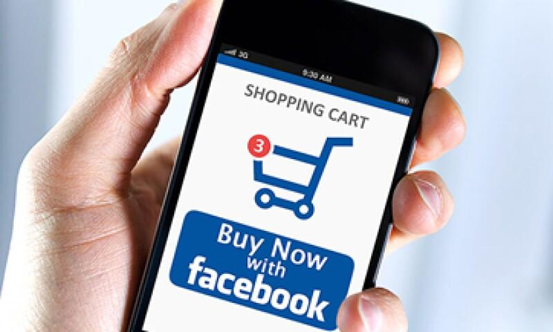 La red social llenaría automáticamente los campos requeridos de la tarjeta de crédito. (Foto: Cortesía de CNNMoney)