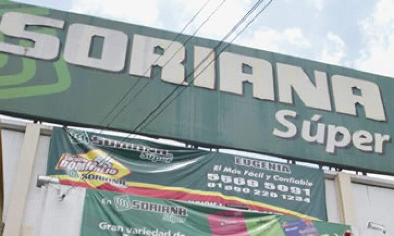 El flujo operativo de Soriana bajó a 1,701 millones de pesos. (Foto: Cuartoscuro)