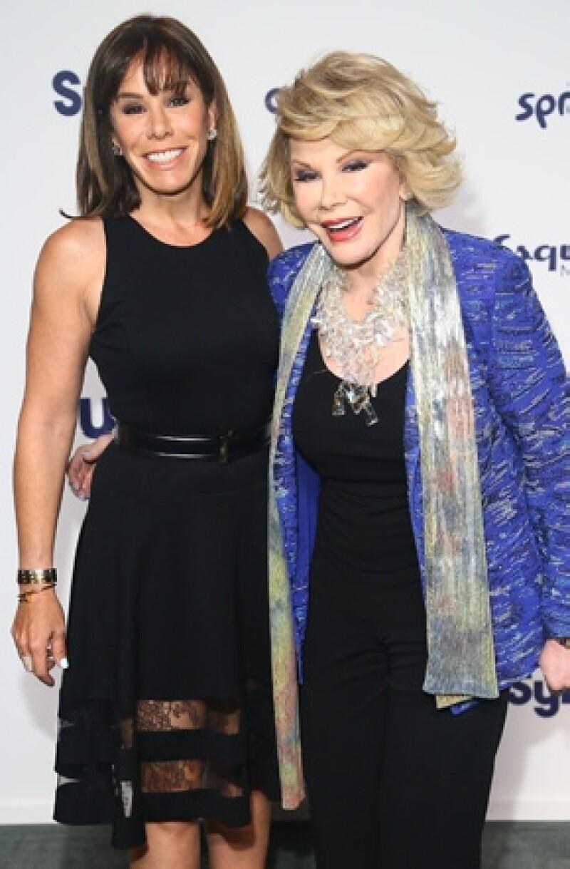Melissa Rivers y su mamá llevaban una excelente relación.