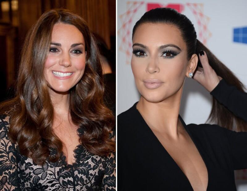 Al parecer Kim escuchó muy bien a su novio Kanye cuando él le dijo que le gustaría que ella se vistiera como Kate, por ello es que la estadounidense le mandó ropa a la Duquesa.