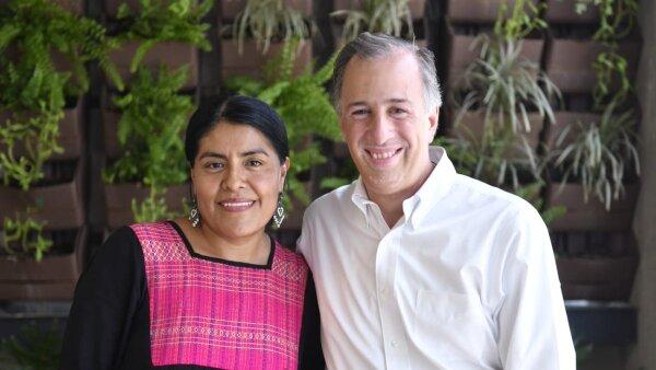 Eufrosina se suma a las políticas que decidieron pasar de apoyar a la excandidata independiente Margarita Zavala por apoyar a José Antonio Meade.
