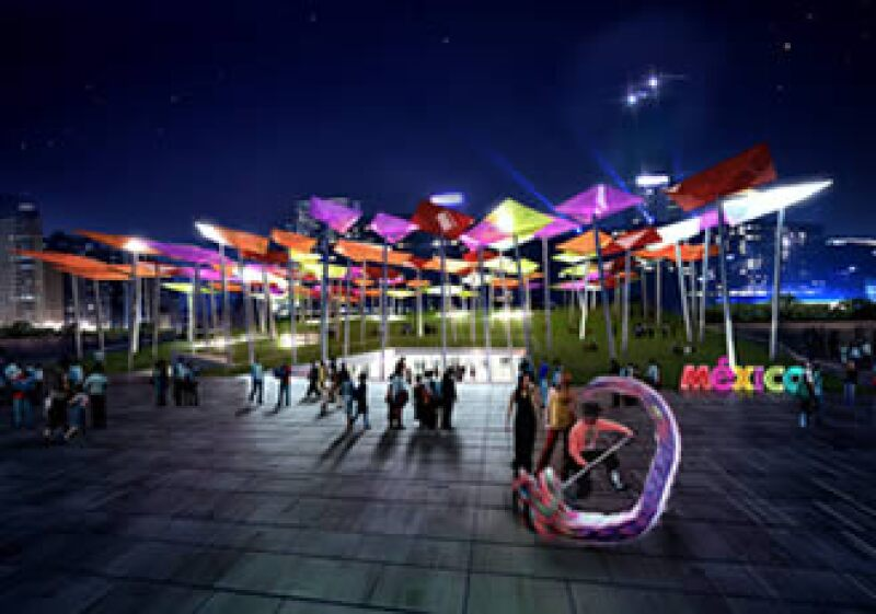 El proyecto de México para la Expo 2010 Shanghai está inspirado en el lema ¨Vivir mejor¨