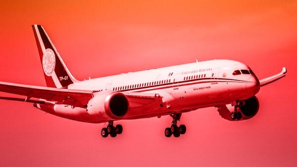 El avión TP01