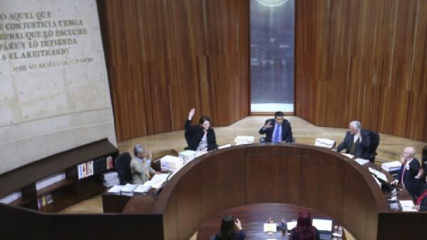 Los magistrados de la Sala Superior revocaron la decisión de la Sala Regional Especializada que exoneraba al partido.