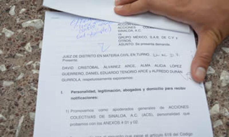 La sentencia de esta demanda abarcaría a todos los afectados por el derrame de sulfato de cobre en río de Sonora. (Foto: Cortesía de ACS)