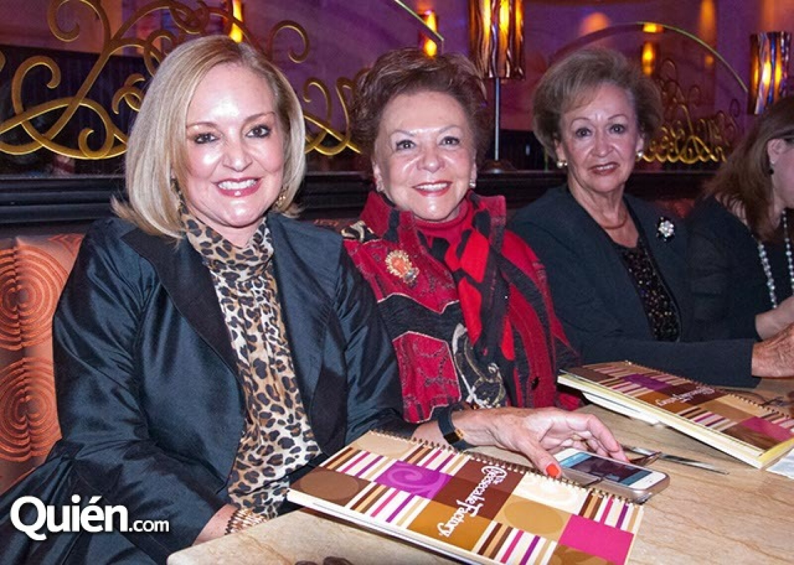 Marcela Gosselin, Maru Castro e Hilda Paliza