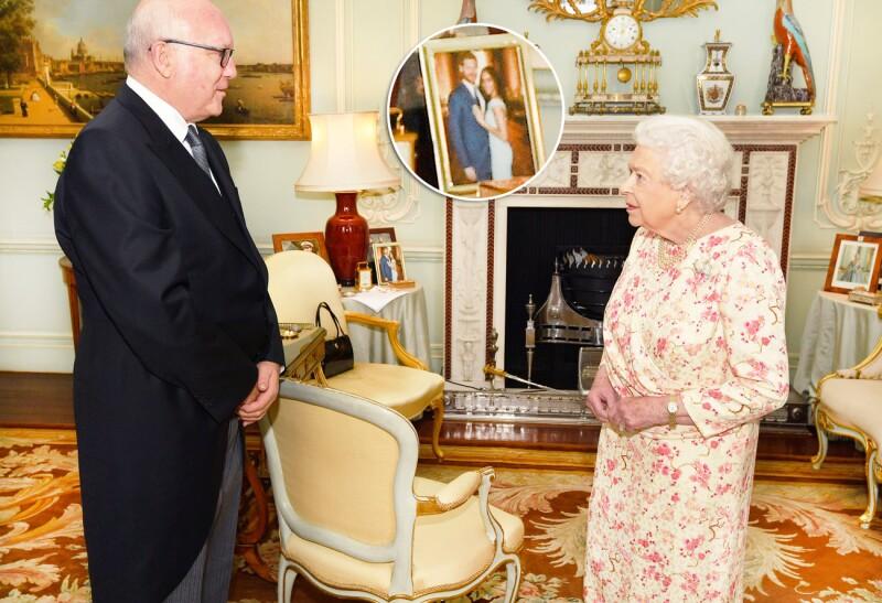 Con este detalle, la reina Isabel tiene cerca de ella a Meghan y Harry