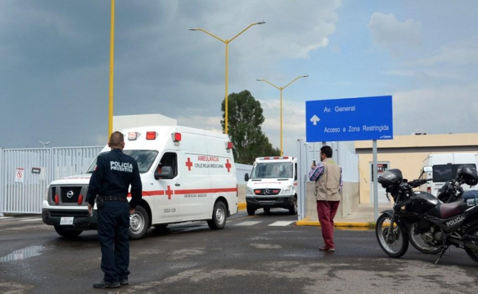 Accidente Aeromexico hospital