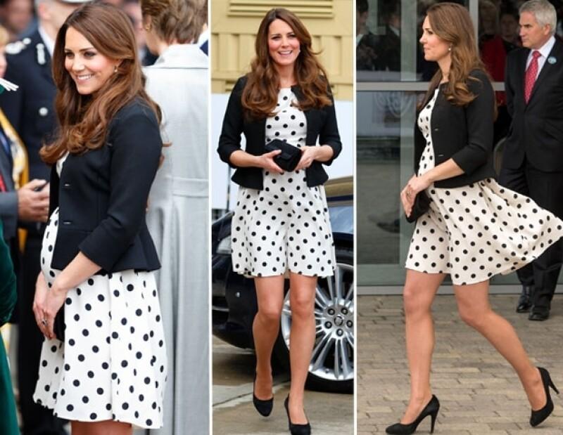Kate gastó en este vestido sólo 59 dólares y lució muy linda.